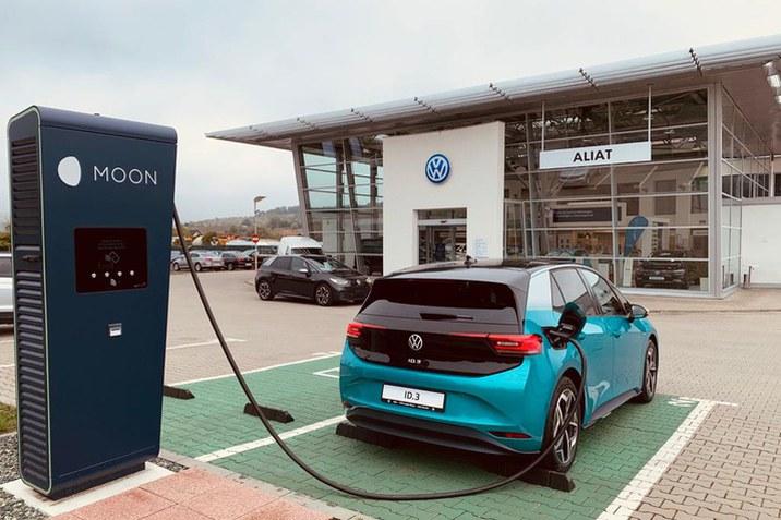 Reteaua de incarcare a autovehiculelor electrice